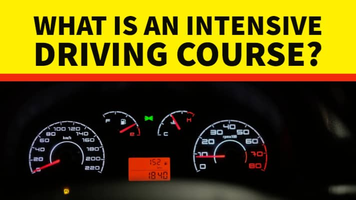 Intensive driving course vs normal driving course?
