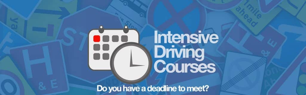 Intensive Courses save you money and time!